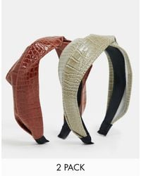 Stradivarius Pack Of 2 Headbands - Multicolor