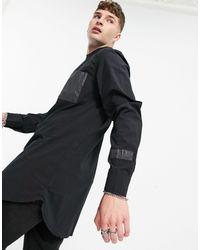 Sixth June Reflective Cargo Shirt - Black