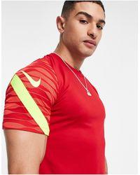 Nike Football Dri-fit Strike 21 T-shirt - Red