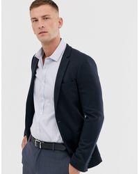 ASOS Superskinny Jersey Blazer - Blauw