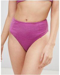 Motel Taya Bikini Bottom - Purple