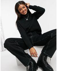 New Look High Neck Sweater - Black