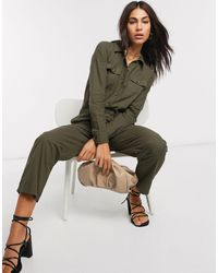 Warehouse Casual Utility Boilersuit - Green
