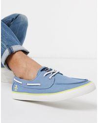 Original Penguin Boat Shoe - Blue