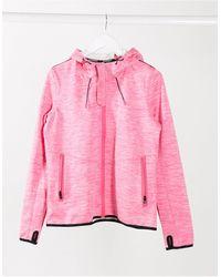 Superdry Prism Hooded Sd- Windtrekker Jacket - Pink
