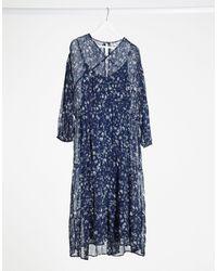 Free People - Midi Dress - Lyst