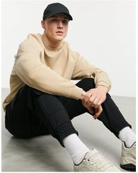 ASOS Oversized Sweatshirt - Natural