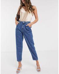 Mango Slouch Jeans - Blue