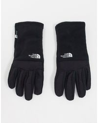 The North Face Черные Перчатки Для Сенсорных Экранов Denali-черный