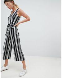 Oasis Stripe Jumpsuit - Multicolor