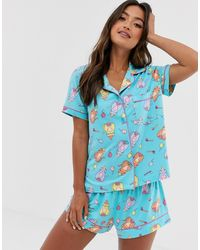 Chelsea Peers - Party Cat Short Pj Cat - Lyst