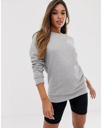 adidas Originals Essential - Sweater Met Ronde Hals - Grijs