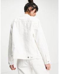 Levi's Белая Куртка В Утилитарном Стиле -белый