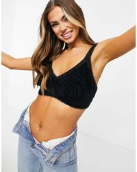Weekday Alora Knitted Bralet - Multicolor