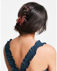 Pieces Hair Claw - Orange