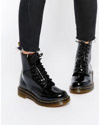 Dr. Martens Modern Classics 1460 Patent 8-eye Boots - Black