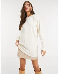 Pieces - Long Sleeved Sweatshirt Co Ord - Lyst