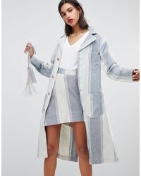 Vivienne Westwood Anglomania Duster Coat - Blue
