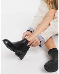 ALDO Черные Ботинки-челси -черный