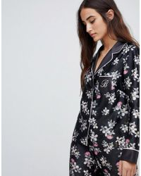 Ted Baker - Top de pijama con reverso y estampado de flores Sunlit de B By - Lyst