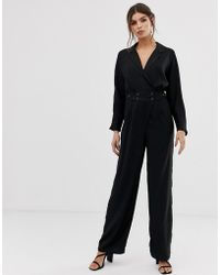 Y.A.S - Jumpsuit With Button Waist - Lyst