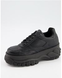 ASOS Depend Chunky Trainers - Black