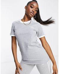 adidas Originals - Adicolour Three Stripe T-shirt - Lyst