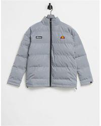 Ellesse Светоотражающая Дутая Куртка -серый