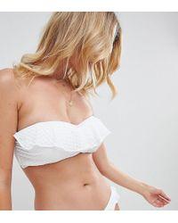Freya - Bohemia Bandeau Bikini Top - Lyst
