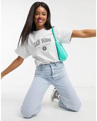 Miss Selfridge San diego - T-shirt - Gris