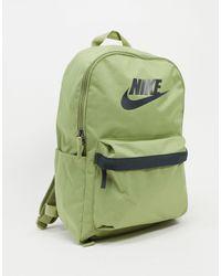Nike Рюкзак Оливкового Цвета Heritage-зеленый