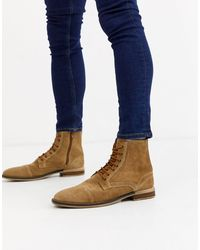TOPMAN Military Boots - Brown