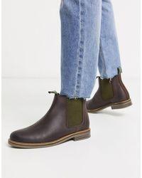 barbour farsley chelsea boots black