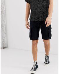 Bellfield Cargo Shorts - Black