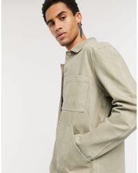 Weekday Джинсовая Куртка Хаки -зеленый