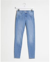 Wrangler Charm - Jeans skinny chiari - Blu