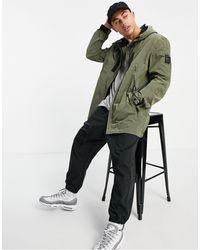 Marshall Artist Liquid Ripstop Jacket - Green
