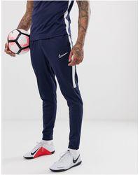 Nike Football Academy Trackies - Blue