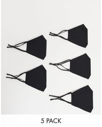 ASOS Набор Из 5 Масок Для Лица Черного Цвета - Черный