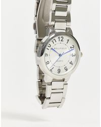 Bellfield Womens Silver Watch With White Dial - Metallic
