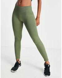 Hoxton Haus Seamless Gym leggings - Green