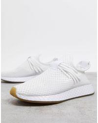 adidas Originals Белые Кроссовки Deerupt-белый