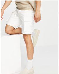 Karlkani Og Cargo Shorts - White