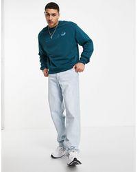 adidas Originals Сине-зеленый Свитшот С Логотипом -зеленый Цвет - Синий