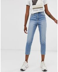 ONLY – Mom-Jeans - Blau