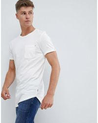 Produkt T-shirt long basique - Blanc