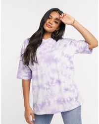 ASOS Oversized T-shirt - Purple