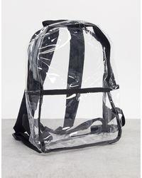 ASOS Прозрачный Мини-рюкзак Из Пластика - Многоцветный