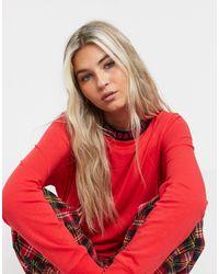 DKNY Camiseta - Rojo