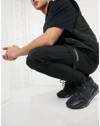 The Couture Club Joggers negros cargo texturizados